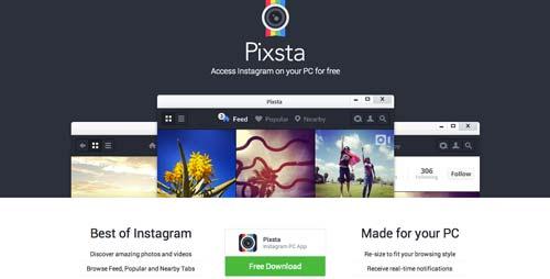 Uso efectivo de gradientes en páginas de destino: Pixsta