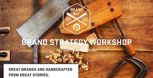 Ejemplos de tipografías para títulos: Brand Bat