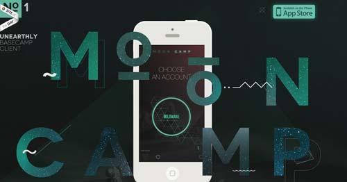 Ejemplos de tipografías para títulos: Mooncamp
