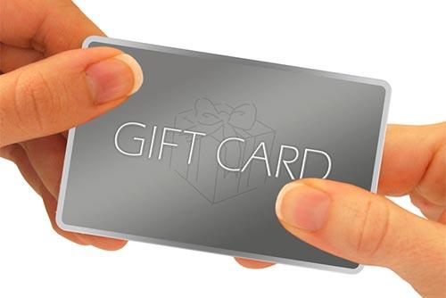 Ventajas del comercio online: Certificados de regalo