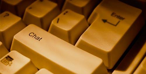 Ventajas del comercio online: Chat en línea