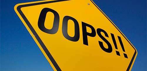 Cómo responder a criticas en las redes sociales: Aprovechar errores