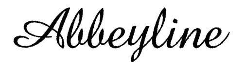 Fuentes caligraficas gratuitas para tus diseños: Abbeyline