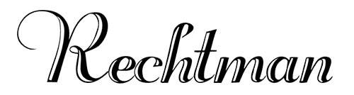 Fuentes caligraficas gratuitas para tus diseños: Rechtman