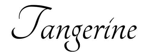 Fuentes caligraficas gratuitas para tus diseños: Tangerine