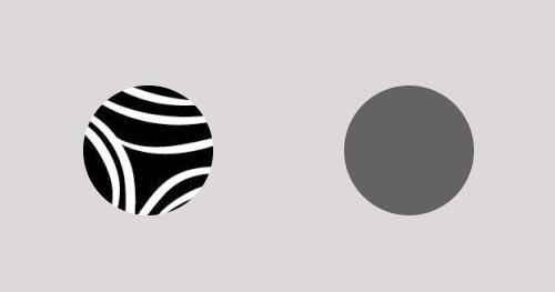 Maneras de incrementar el peso visual de un elemento: Añadir textura