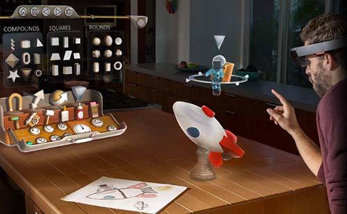 Microsoft anuncia su nueva interfaz de realidad aumentada Windows Holographic: HoloStudio
