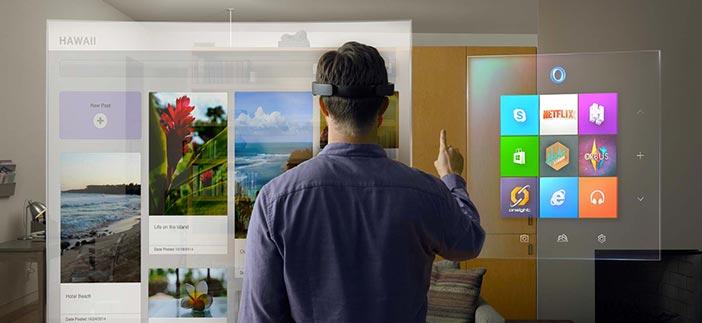 Microsoft anuncia su nueva interfaz de realidad aumentada Windows Holographic