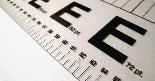 Pautas para mejorar legibilidad de tu tipografía en la web: Elegir el tamaño adecuado