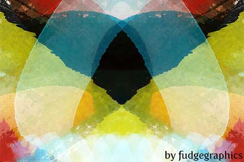Pinceles Photoshop gratuitos con efecto de acuarela: Watercolour Strokes Brushes