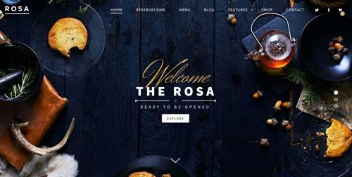 Temas WordPress flexibles para crear y personalizar tu sitio desde cero: Rosa