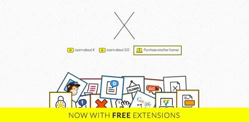 Temas WordPress flexibles para crear y personalizar tu sitio desde cero: X Theme
