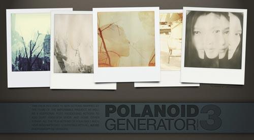 Acciones Photoshop gratuitas para añadir diversos efectos a tus fotos: Polaroid Generator v3