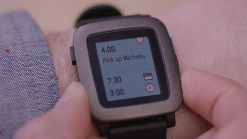 Razones por las cuáles el nuevo smartwatch Pebble Time podría ser la competencia del Apple Watch: Interfaz