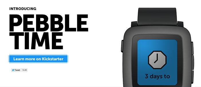 Razones por las cuáles el nuevo smartwatch Pebble Time podría ser la competencia del Apple Watch