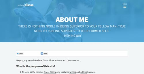 Diversos usos de las Hero Images en diseño web: Cabeceras llamativas