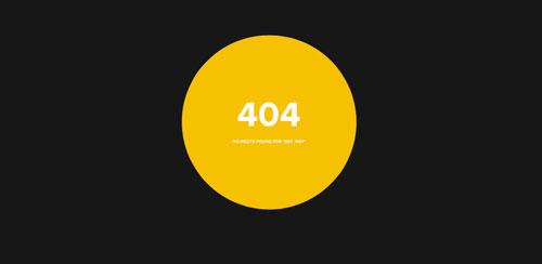 Ejemplos de paginas web creativas que presentan error 404: Gifmylive