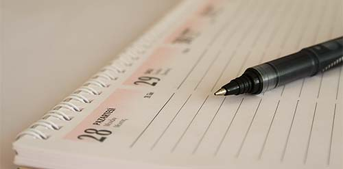5 hábitos que los blogers deben adquirir rápidamente: Establecer metas y planificar según éstas
