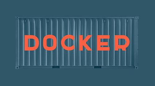Tipografías apropiadas para diseño de marca: Docker