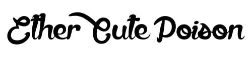 Tipografías apropiadas para diseño de marca: Ether Cute Poison