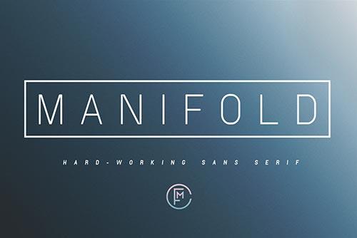 Tipografías apropiadas para diseño de marca: Manifold