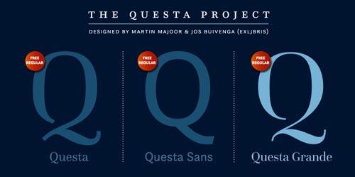 Tipografías apropiadas para diseño de marca: Questa