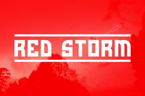 Tipografías apropiadas para diseño de marca: Red Storm