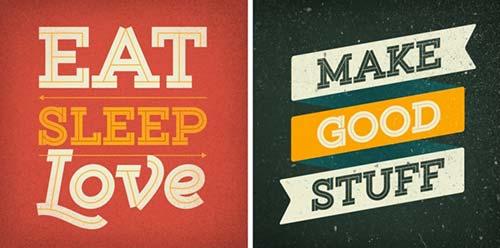 Tipografias gratis para tus diseños vintage: Gist