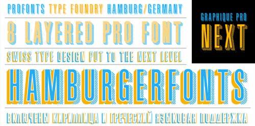 Tipografias gratis para tus diseños vintage: Graphique Pro Next