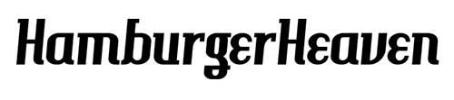 Tipografias gratis para tus diseños vintage: HamburgerHeaven