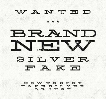 Tipografias gratis para tus diseños vintage: Silverfake