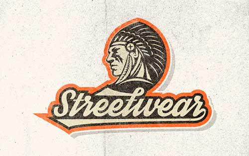 Tipografias gratis para tus diseños vintage: Streetwear
