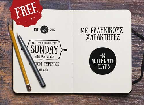 lista-tipografias-gratis-diseno-retro-vintage-sundayfont