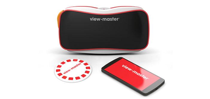 Mattel y Google se unen para lanzar renovado ViewMaster: El nuevo dispositivo