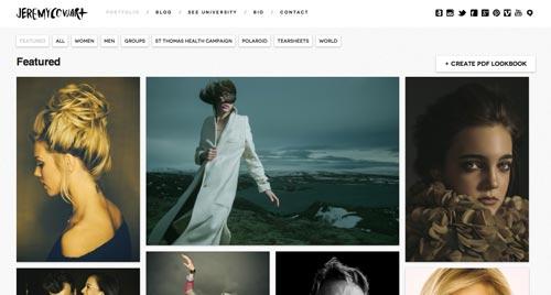 Pautas para crear sitio web enfocado en la fotografía: Crear contraste