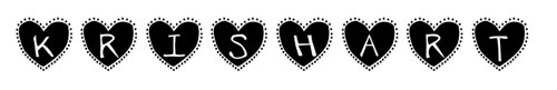 Tipografias gratis para tus proyectos de San Valentín: Krishart