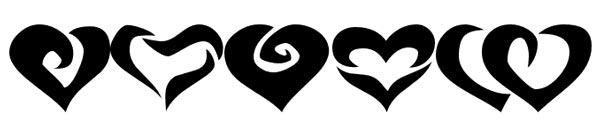 Tipografias gratis para tus proyectos de San Valentín: KR Valentines 2006 Two