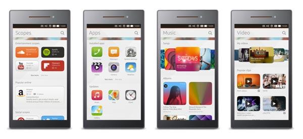 Scopes del Ubuntu Smartphone