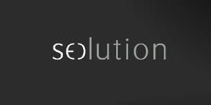 Ejemplos de diseño de logos tipográficos creativos: Seolution