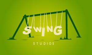 Ejemplos de diseño de logos tipográficos creativos: Swing Studios