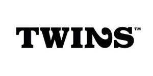 Ejemplos de diseño de logos tipográficos creativos: Twins