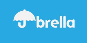 Ejemplos de diseño de logos tipográficos creativos: Umbrella