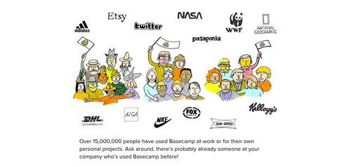 Elementos a incluir en tus landing pages: Lista de clientes influyentes