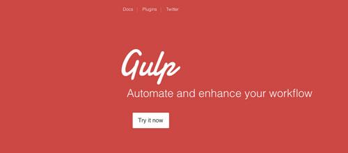 Herramientas para comprimir codigo JavaScript: Gulp.js