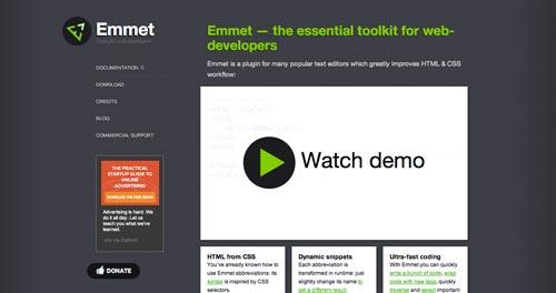 Herramientas que todo desarrollador debería conocer: Emmet