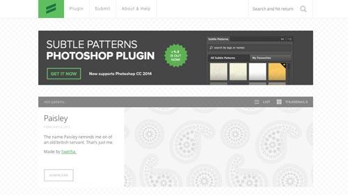 Herramientas que todo desarrollador debería conocer: Subtle Patterns