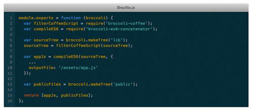Herramientas útiles para el entorno de programacion Node.js: Broccoli
