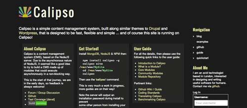 Herramientas útiles para el entorno de programacion Node.js: Calipso