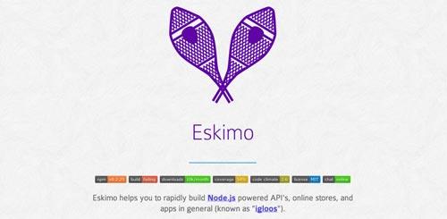Herramientas útiles para el entorno de programacion Node.js: Eskimo