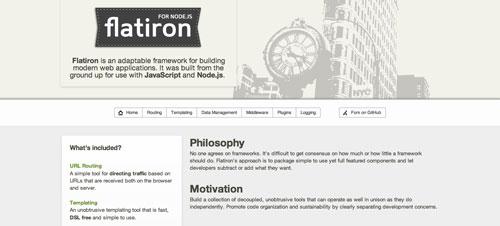 Herramientas útiles para el entorno de programacion Node.js: Flatiron